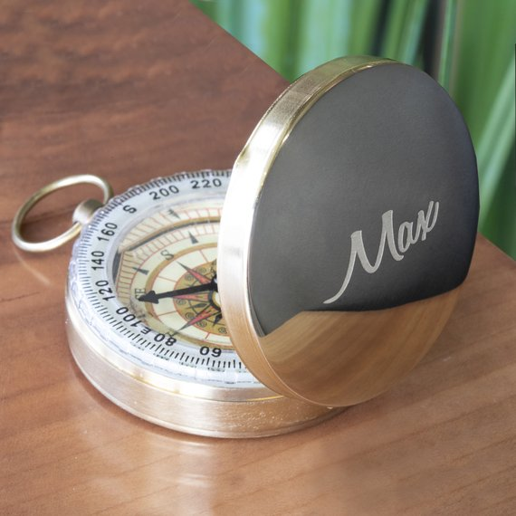 Compass Engraving